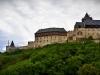 Karlstein castle in summer