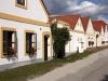 Vintage houses at Trebon
