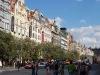 Wenceslas Square, historical buildings
