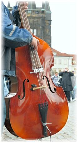 Musican in Prague
