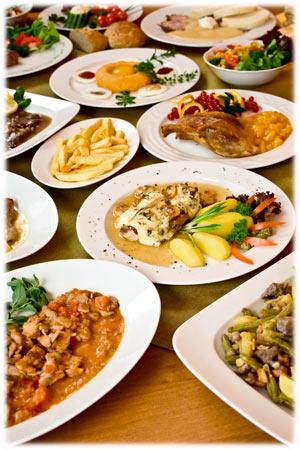 Lunch en Diner