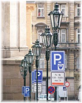 Parkering i Praha