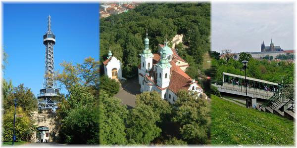 De heuvel Petřín