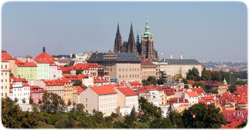 Slottsvandring i Prag