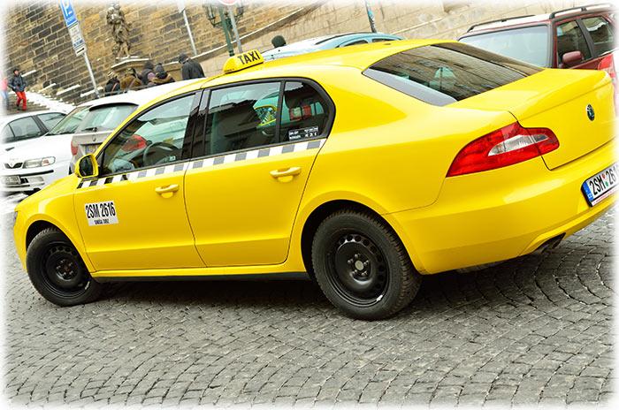 Prague Taxi Drivers
