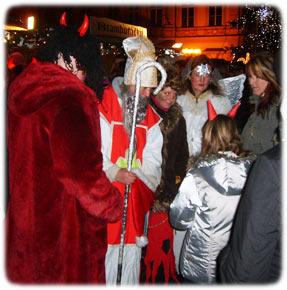 St. Nicholas Day in Prague
