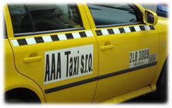 Taxi Prag