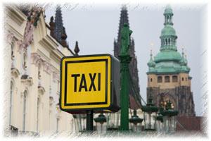 Taxi Prague Stand