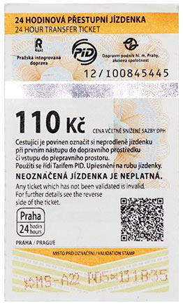 Prag Karte Offentliche Verkehrsmittel.Tickets Fur Den Offentlichen Nahverkehr Beforderung