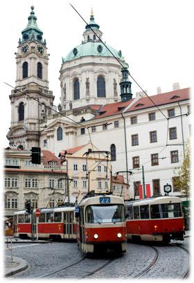 Ξεναγήστε τον Εαυτό σας στην Πράγα με το Τραμ #22