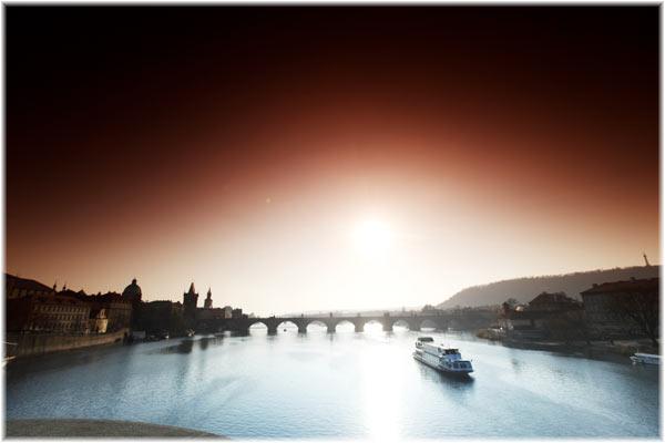 Vltava flod