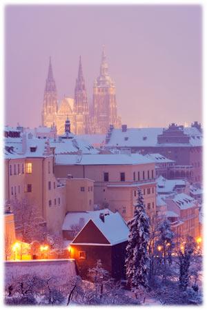 Die Atmosphäre einer tschechischen Weihnacht